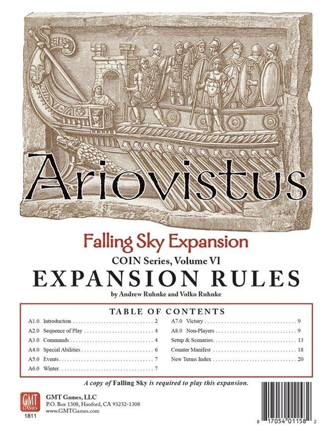 Ariovistus  A Falling Sky Expansion, NEW
