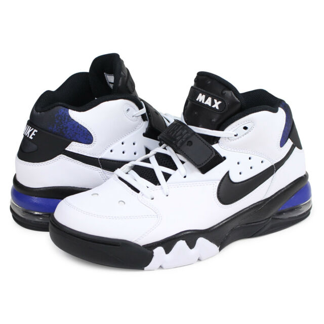 NIKE AIR FORCE MAX SHOES MENS SZ 10 CHARLES BARKLEY AH5534 100 RETAIL $140