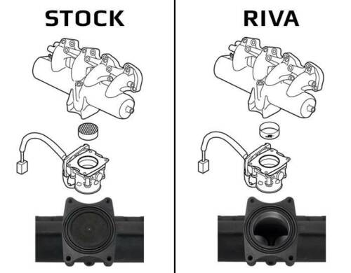 Yamaha SHO RIVA Intake Manifold Upgrade Kit RY12040-IMUK 2008-2017 SHO//SVHO