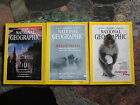 NATIONAL GEOGRAPHIC MAGAZINE LOT OF 3 ISSUES October November December 1994