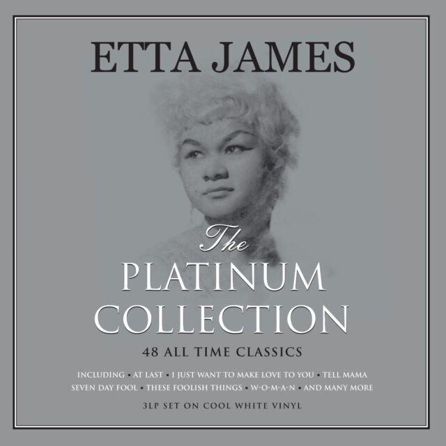 Etta James - The Platinum Collection (3LP 180g White Vinyl) NEW/SEALED