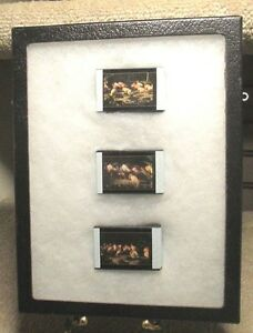 real riker 6 75 x 8 5 x 1 glass top display case w art science