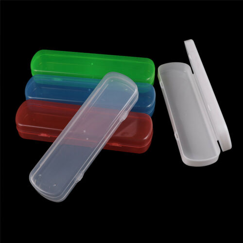 Portable Travel Bathroom Toothbrush Holder Tube Plastic Cover Protect Case Box ^