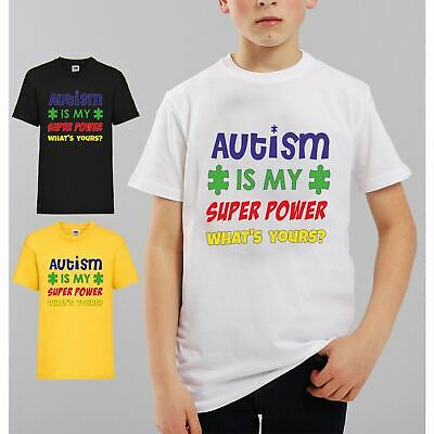 Autism Carers Kids T-shirt My sister has Autism its rude to stare