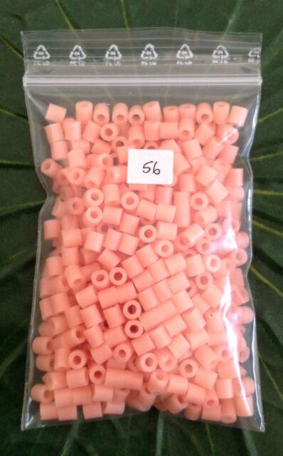 500 Hama midi Bügelperlen Neue Farben -  5mm Durchmesser Perlen f. Stiftplatten