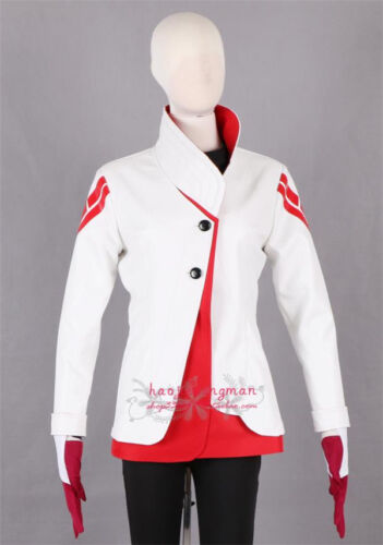 Anime Pokemon Go Team Captain Candela Uniform Cosplay Costume Cool White Jacket