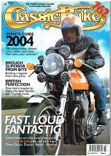 Classic Bike March 2004 Laverda Jota Brough Kawasaki triples Ducati Bimota