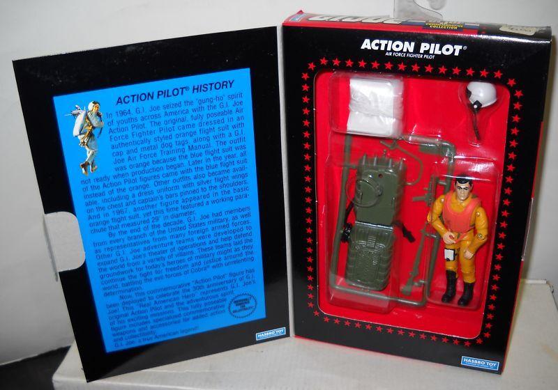 464 Nuevo En Caja Hasbro Gi Joe 30th aniversario piloto Figura De Acción