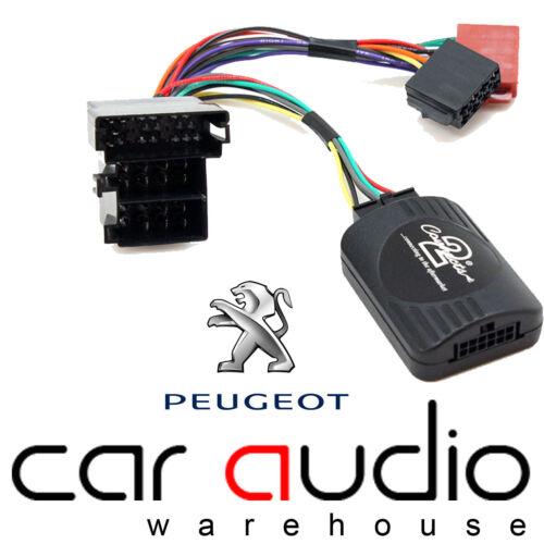 Peugeot 206 1998-2002 SONY Car Stereo Radio Steering Wheel Interface