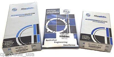 ACL Bearings Honda Main Rod Thrust 1.6 SOHC D16A1 D16A6 D16Y5 D16Y7 D16Y8 (STD)