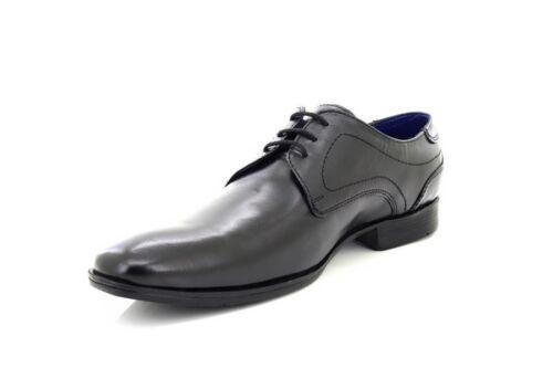 stringate scarpe in Gibson Ashford pelle M445 Plain occhielli 3 Route21 naqzw6Sg8x