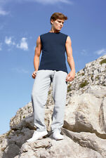 Pantalone felpato tuta Fruit of the Loom F64032 ash, Grigio neutro