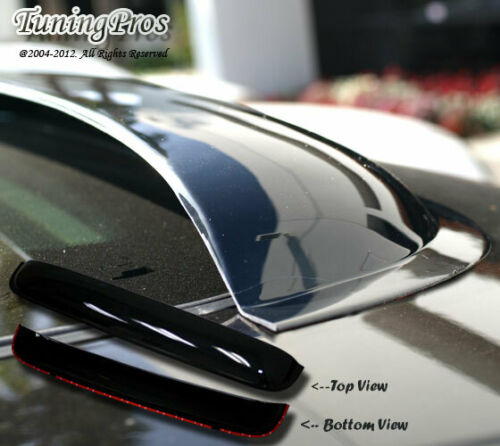Rain Guard Sunroof Moon Roof Visor 980mm Dark Smoke 3MM 04-10 BMW 525i 530i 545i
