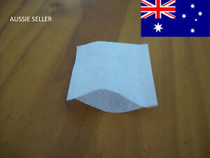 100 EMPTY TEA BAGS SEALABLE 2X50 EMPTY TEABAGS HEAT SEAL HERB INFUSER TEABAGS