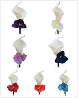 Pick Hydrangea Colorcalla Lily Hydrangea Boutonniere-pin Included
