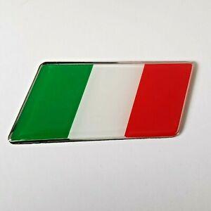 Tricolores Italie Drapeau Badge Autocollant Pour MG Tf ZR Zs Zt-T Rover 25 45 75