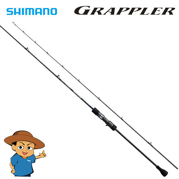 Shimano GRAPPLER type SLOW J B68-2 fishing baitcasting rod 2018 model
