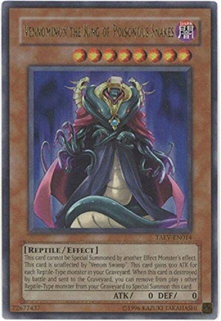 YuGiOh Vennominon the King of Poisonous Snakes (TAEV-EN014) Ultra Rare Mint