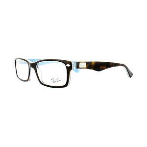 cbe5761fed Ray-Ban Glasses Frames 5206 5023 Havana on Transparent Azure 52mm ...