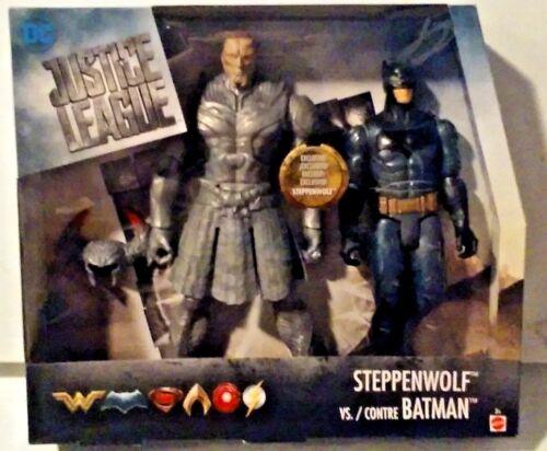 DC Comics Justice League Steppenwolf vs Batman 12 Inch Figures New MISB