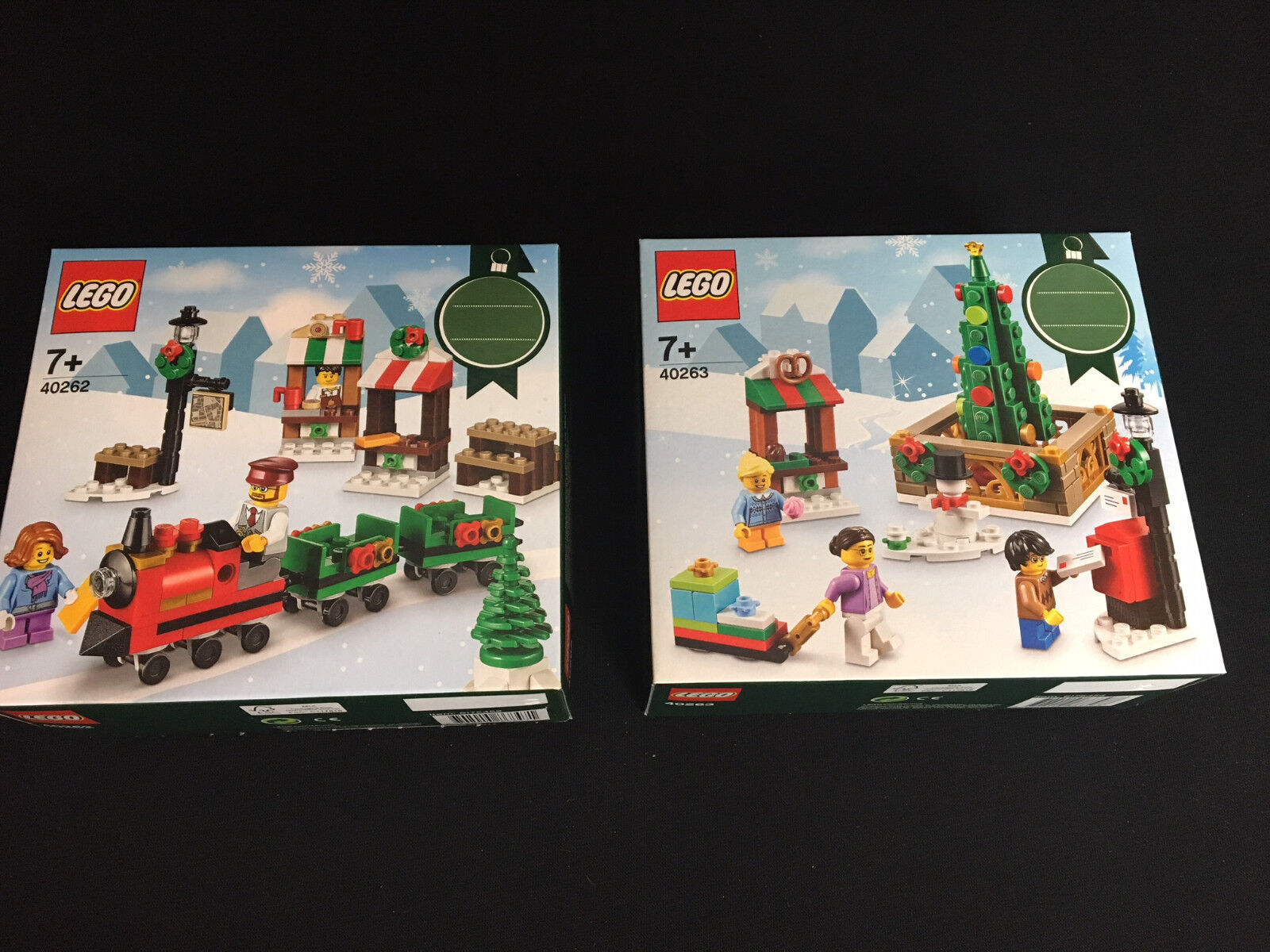 Lego® 40262 40263  2 x Weihnachtssets Christmas  New OVP New MISB