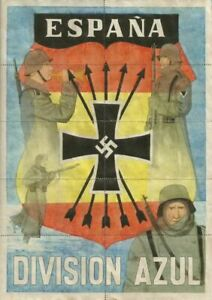 WW2-CURRENCY-RATION-SHEET-w-DIVISION-AZUL-SOLDIERS-SWASTIKA-ON-BACK-of-COUPONS