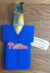 MLB-Philadelphia-Phillies-Baseball-Blue-Jersey-Koozie-NEW