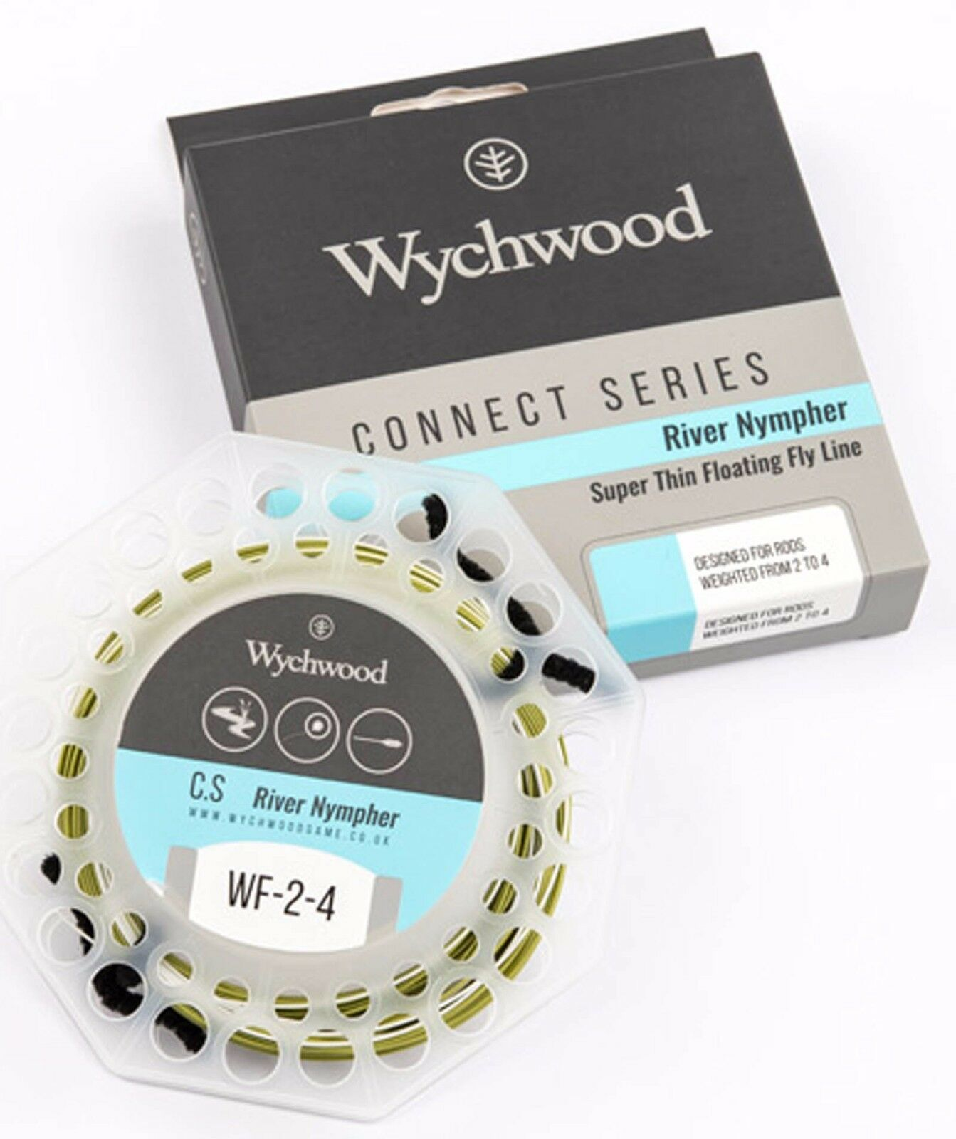 Wychwood Connect Series River Nympher Super Thin  Running Fly Fishing Line  no minimum