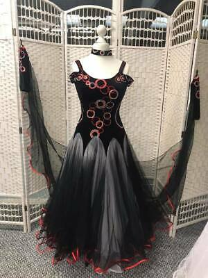 LATIN SALSA COMPETITION CRYSTAL DRESS WITH HIGH QUALITY  M58