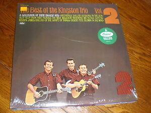 Kingston-Trio-LP-The-Best-Of-Volume-2-SEALED