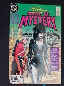 ELVIRA-039-S-HOUSE-OF-MYSTERY-1986-Series-7-Mint-Comic-Book