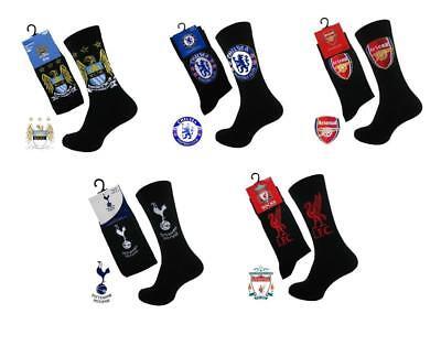 Children's Arsenal Socks 2 Pack Offer 4-6.5 Official Licensed Product Ideal Gift