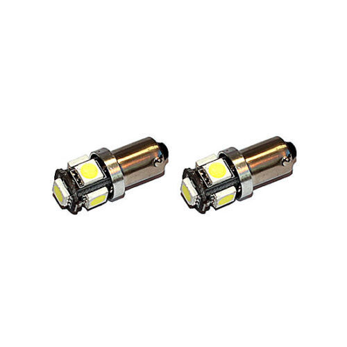 2x Ba9s 5 SMD LED T4W 24 Volt Innenraumbeleuchtung CANBUS für LKW Renault Trucks