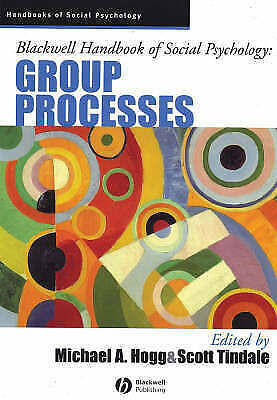 1 of 1 - Blackwell Handbook of Social Psychology: Group Processes (Blackwell-ExLibrary