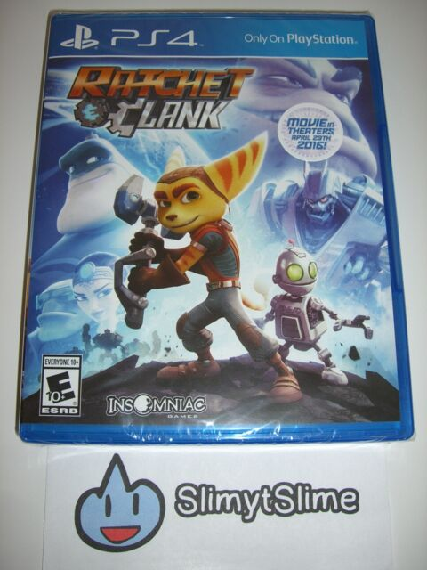 Ratchet & Clank (Action Adventure; Insomniac, Sony PlayStation 4, 2016) — NEW!