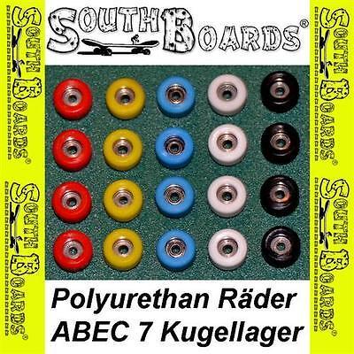 Modestil Fingerboard Pu Räder Mit Abec 5 Kugellager Von Southboards® Für Fingerskateboard