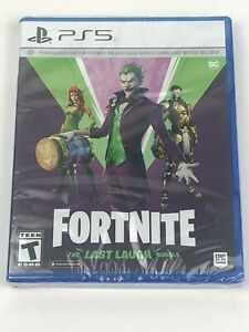 Brand New & Sealed Fortnite: The Last Laugh Bundle for PS5 PlayStation 5