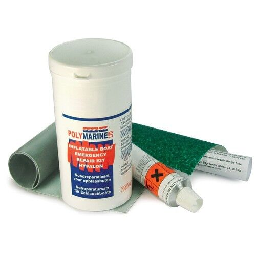 Polymarine Hypalon Inflatable Boat Repair Kit - Grey