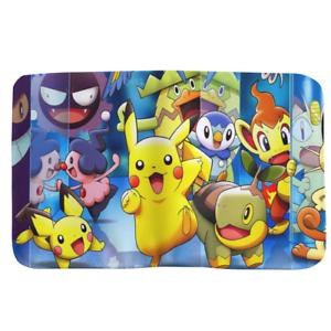 Pokemon Canvas Ticket Protector Case Travel Passport Holder p60 w2042