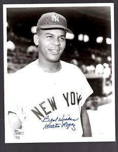 Hector Lopez Signed Autograph New York Yankees 8x10 Photo - JSA R22987