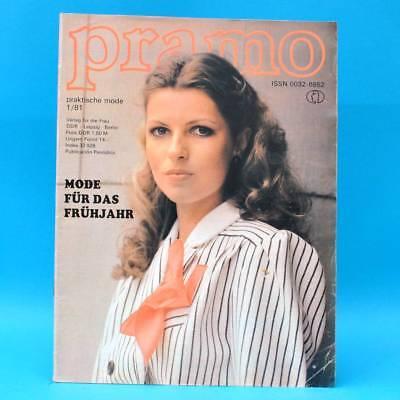 Ddr Pramo 1/1981 Praktische Mode Schnittmuster C Umstandsmode Röcke Und Blusen