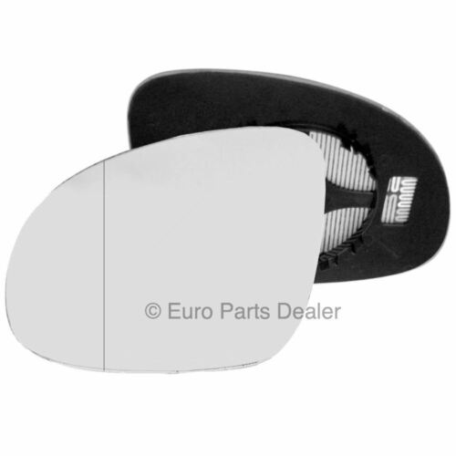Left side Clip Heated Wide Angle wing mirror glass for Volkswagen Tiguan 07-16