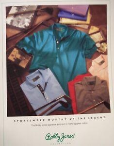 Bobby-Jones-Collection-XL-Fine-Cotton-Short-Sleeve-Polo-Golf-Shirts-Italy