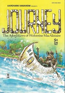 JOURNEY #11 JUNE 1984 ADVENTURES OF WOLVERINE MACALISTAIRE AARDVARK-VANAHEIM