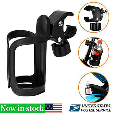 360° Portable Bike Bracket Scooter Bicycle Water Bottle Drink Cup Holder Mount