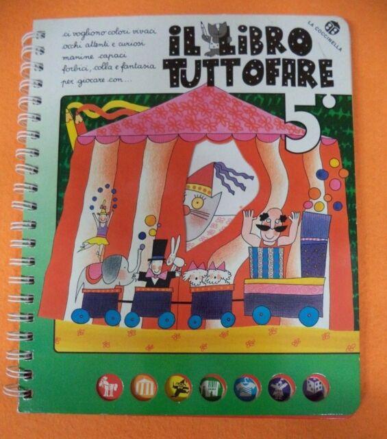 Book Libro IL LIBRO TUTTO FARE N' 5 2002 LA COCCINELLA (L17)