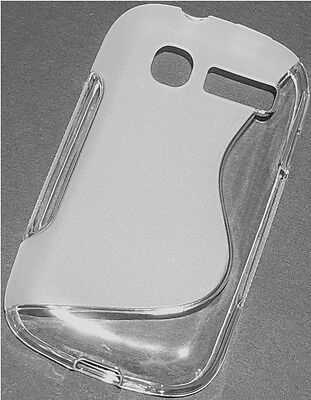 SILIKON CASE TRANSPARENT S-LINE FÜR ALCATEL ONE TOUCH POP C1 4015D SCHUTZHÜLLE