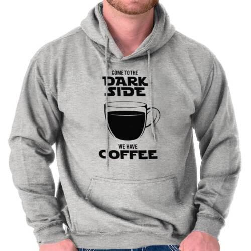 Dark Side Coffee Funny Space Galaxy Gift Hoodies Sweat Shirts Sweatshirts