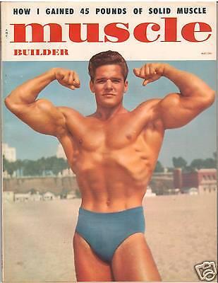Muscle Builder Bodybuilding Fitness Exercise Magazine Dick Dubois 5-57