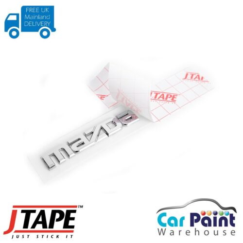 J Tape Clear Badge Logo Tape 91464 10pk